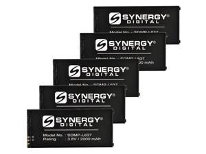 Nokia Lumia 650 Cell Phone Battery Combo-Pack includes: 5 x SDMP-L637 Batteries