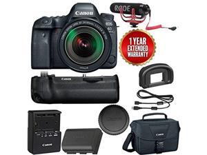 3318c020573f Canon EOS 6D Mark II Wi-Fi Digital SLR Camera Body with BG-E21