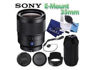 Sony Distagon T FE 35mm f/1.4 ZA Lens (SEL35F14Z) Mirrorless E-Mount Best Value Bundle Includes Professional Lens Cleani