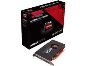 Sapphire Video Card 100-505737 AMD FirePro W5100 4GB DDR5 128Bit PCI-Express 4xDisplayPort Retail