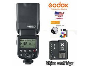 Godox V850II TTL 1/8000s Flash Speedlite +X2T-S Wireless Trigger For Sony Camera