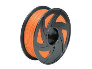 Creality 3D Printer Filament 1.75mm PLA 1kg 2.2lb Orange Color MakerBot RepRap