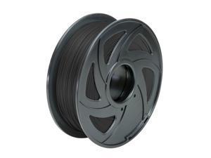 3D Printer Filament 1.75mm PLA  Material 1kg 2.2lb Black Color MakerBot RepRap