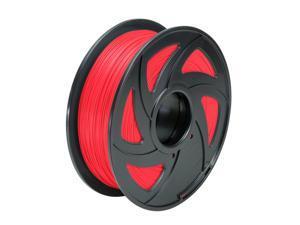 Creality 3D Printer Filament 1.75mm PLA 1kg 2.2lb MakerBot RepRap Red Filament
