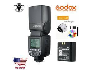 US Godox V860II-N GN60 2.4G i-TTL Li-on Battery Camera Flash Speedlite for Nikon