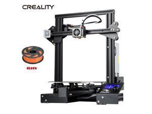 Creality Ender-3 Pro MeanWell Thermal Runaway 3D Printer + Orange 2.2LB Filament