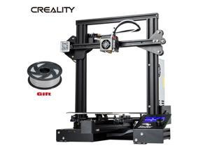 Creality Ender-3 Pro 3D Printer Silent Mother Board Magnetic Bed +Gray Filament
