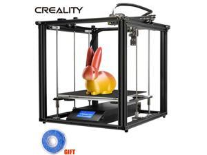 Creality Ender-5 Plus 3D Printer Auto Bed Leveling 350X350X400mm + Blue Filament