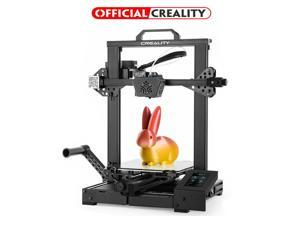 Creality CR-6 SE 3D Printer FDM Leveling-Free with Silent Motherboard, Meanwell Power Supply, Touch Screen, Tempered Glass Plate and Dual Z-axis Print Size 235 x 235 x 250 mm