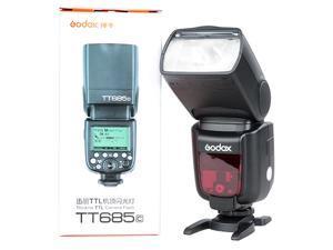 Godox TT685C 2.4G HSS 1/8000s High Speed E-TTL GN60 Wireless Speedlite Flash for Canon DSLR Camera 60D 7D 5D Mark III Rebel T3i T3 T4i