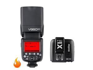 Godox V860II-C E-TTL HSS 2.4G Wireless Flash Speedlite + X1T-C Trigger for Canon