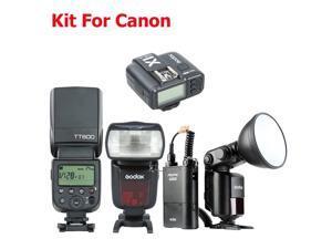 Godox TT685C TT600 X1T-C 2.4G HSS Camera Flash Speedlite Trigger Kit for Canon