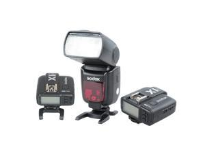 Godox TT685C High Speed 1/8000s E-TTL II Camera Flash with X1C Flash Trigger Transmitter & Receiver for Canon EOS Cameras