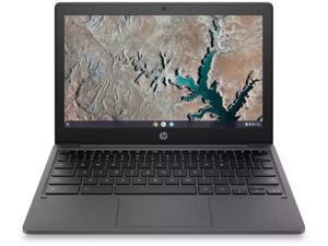 "HP 11.6"" HD Chromebook for Students MediaTek MT8183 4GB LPDDR4 RAM 32GB eMMC Chrome OS, 18J38UA"