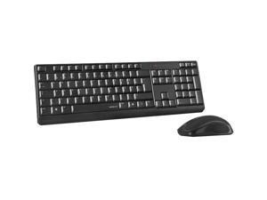 Speedlink NIALA Deskset - Wireless Keyboard and Mouse Bundle, Black