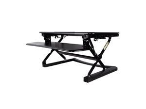 TygerClaw Ergonomic Sit-Stand Desktop Workstation Stand