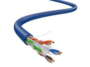 CAT6 Solid UTP Cable 23AWG 1000ft LAN Network Ethernet RJ45 Wire, Blue Big Feeder