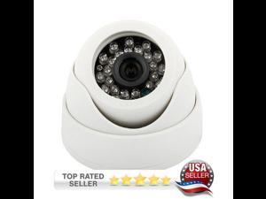 "Dripstone 2.0MP 1/3"" CMOS HD-TVI 1080p Dome Camera 3.6mm Lens IP66 Weatherproof and Vandal Proof Metal Case"