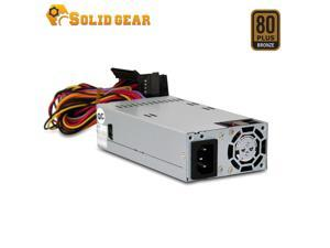 "Solid Gear FLEX / Mini ITX 300 Watt 80 Plus Bronze Power Supply, for 1U, FLEX ATX with One PCIE 6+2 Connector. 40mm fan, Dimension: 6""x3.2""x1.5"""