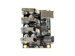 Coolgear USB 3.1 4 Port Mini Hub Component Board with ESD & Surge Protection