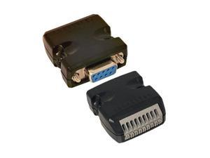 Coolgear DB9 Female 9-Pin to Terminal Block Adapter