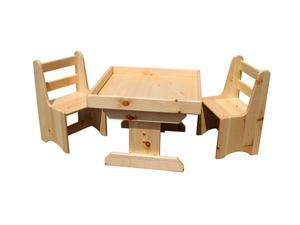 Sandtastik PLATABLECHAIRS Handcrafted Kids Sand Activity Table & Chairs 3 Piece Set