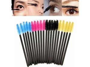50 pcs Eyelash Eyebrow Makeup Brushes Disposable Mascara ...