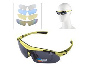 60230bc9248 UV400 Protection Sports Sunglasses with 4 x Extra UV400 Protection Lens ...