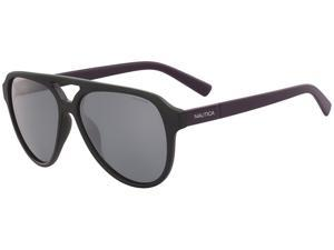 Nautica Polarized Men's Pilot Sunglasses N3632SP