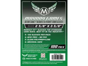 """Ultra-Fit """"Almost-a-penny"""" Card Sleeves MYY7105 MAYDAY GAMES"""