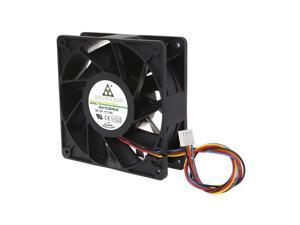 7000RPM Miner Cooling Fan 12038 12V 3A Dual Ball Bearing Brushless 4-Wire PWM Temperature Control Radiator Air Cooler
