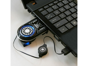 Mini Flexible Vacuum Air Extracting USB Cooler Cooling Fan for Notebook Laptop Accessories Computer Peripheral