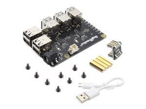 Raspberry Pi X150 9-Port MTT High Speed USB HUB