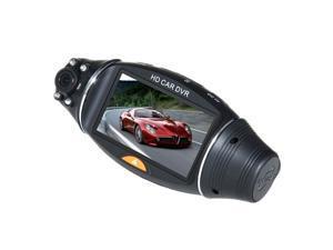 R310 2.7-inch 140 degrees Dual Lens dash board camera car dvr black box video R310 driving recorder double lens HD wide belt GPS path of automobile data recorderReport