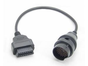 Mitsubishi 12pin OBD1 OBD2 Connector Adapter - Newegg com