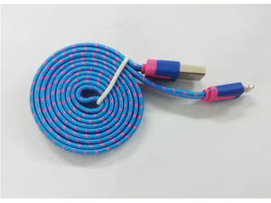 USB to micro USB Cable Braided Woven Sync USB Data Line Cable Adapter for phone