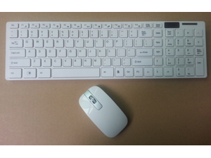 Ultrathin 2.4GIPHONE mini wireless mouse + keyboard