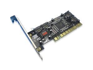 Brand New 4 Port SATA PCI CONTROLLER RAID CARD Channel PCI-Express x1 SATA II RAID 0,1,5,10 Controller Card SY-PEX40008