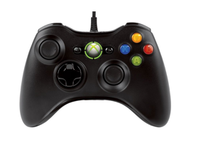 For XBOX 360 Style -Dual Shock Wired USB Game Controller Joypad for PC original wired controller IC shock