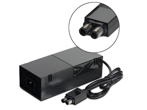 AC Adapter Power Supply Cord for Microsoft Xbox ONE (Output: 150W, 12V 10A) - Includes Charging Brick & Cable with US Plug (Input: AC 100-240V)