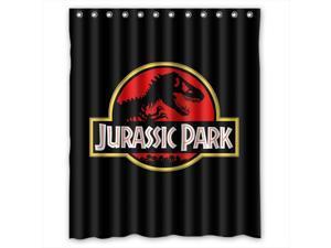 Jurassic Park Movie Design 60x72 Inch Bath Shower Curtains