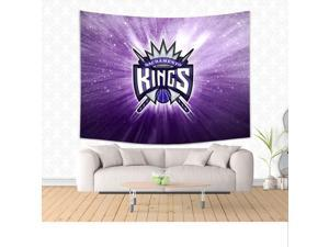 Sacramento Kings 02 NBA Style 150*200cm Wall Hanging Tapestry For Wall Decoration