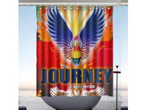 New Journey Band Custom Fabric Shower Curtain 60x72 Inch