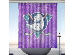 """Personalized Buffalo Sabres Hockey Waterproof  60/"""" x 72/"""" Shower Curtain"""