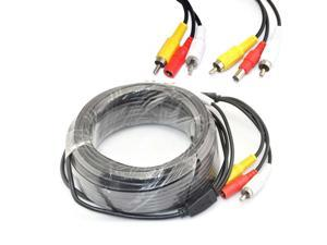 iKKEGOL 5M 16ft BNC CCTV Camera 12V Powered Video Extension Cable for DVR Security Camera