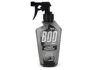 Bod Man Liquid Titanium by Parfums De Coeur Fragrance Body Spray 8 oz for Men