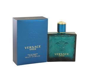 Versace Eros by Versace Eau De Parfum Spray 3.4 oz for Men