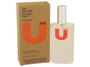 Designer Imposters U You by Parfums De Coeur Cologne Spray (Unisex) 2 oz
