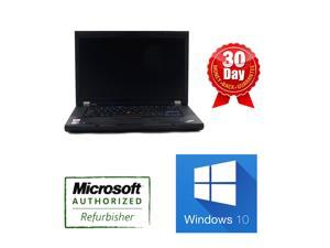 "Lenovo Thinkpad T510 Laptop i5 2.4Ghz, 6G DDR3, 500GB, DVDRW, 15.6""W, Win 10 Professional, AC adapter and new battery, built in webcam, One Year Warranty"