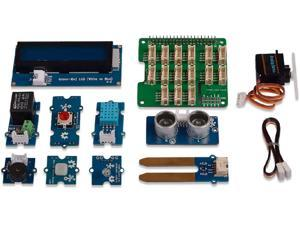 seeed studio Grove Base Kit for Raspberry Pi Including Grove Base and 10 Grove Modules Covering Sensor,Actuator,Display Truly Plug and Play